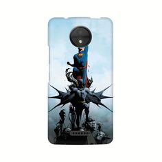 Batman Vs Superman Comic Phone Case for Moto C