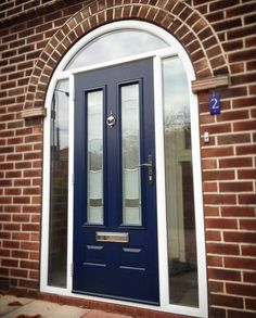 Arched Blue Solidor