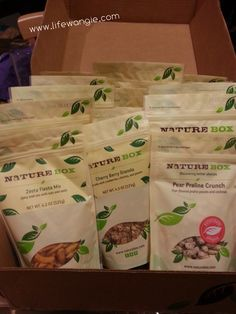 @NatureBox  Review February 2014 from Life With Angie (Angie Kritenbrink)