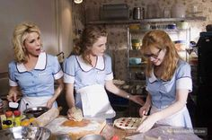 Waitress - Publicity still of Keri Russell, Cheryl Hines & Adrienne Shelly