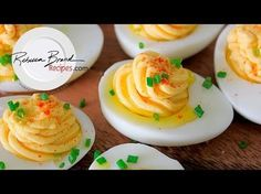 How to make DEVILED EGG BABY BUGGY'S for your next baby shower - YouTube