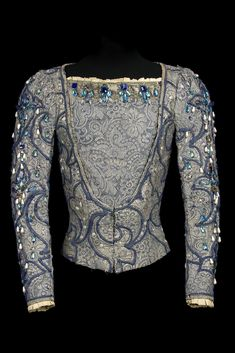 Costume by Nicholas Giorgiadis for Rudolf Nureyev in the role of Prince Siegfried, Act I, in Swan Lake, Vienna State Opera Ballet, 1964.