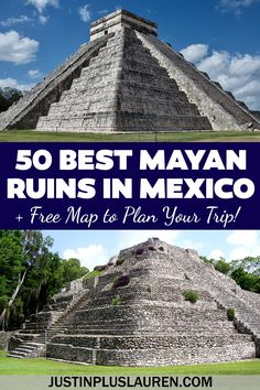 Aztec Ruins, Mayan Ruins, Beautiful Places To Travel, Cool Places To Visit, Tulum Ruins, Mayan Cities, Visit Mexico, Archaeological Site, America