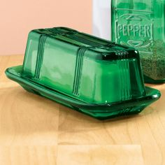 Emerald Green Depression Glassware!