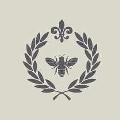 An extraordinary package of French style designer decals sized perfectly to decorate doors, furniture or walls. You may purchase the laurel wreath with napoleon bee and fleur de lis alone in a small or large size or pair it with two elegant lettering quotes; Package 1 - Bon Appetit