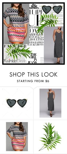 """""""Twinkledeals 31"""" by pamelica ❤ liked on Polyvore featuring Oris, dress, fashionlovers and twinkledeals"""