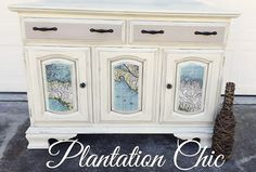 Dresser Painted with Poets Paint by Robyn Galindo of Plantation Chic