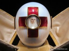 Imperial Red Cross Easter Egg, House of Faberge