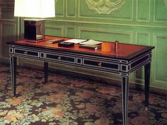 Louis-XVI-style desk from the Jansen Collections, a product line launched in 1972