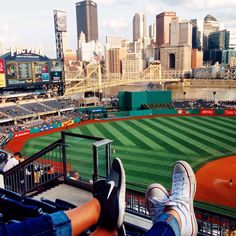 The greatest ballpark in the greatest city #pncpark #pittsburgh