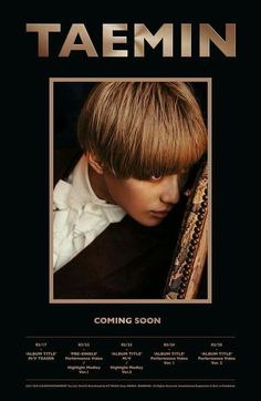 """Taemin solo comeback coming soon! """"Press your number"""""""