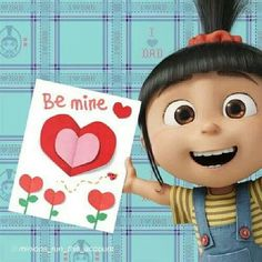 Happy Valentine's Day Minions pictures of the hour PM, Wednesday February 2016 PST) - 20 pics - Minion Quotes Minions Images, Minion Pictures, Cute Cartoon Pictures, My Funny Valentine, Valentines Sale, Happy Valentines Day, Cute Disney, Baby Disney, Humor Minion