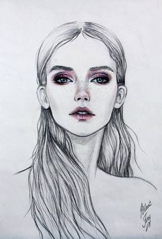 Face.... Fashion illustration