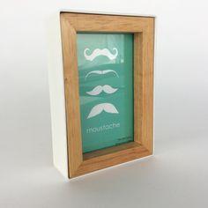 Framed Frame - WOOD & WHITE from Glass House for $19.00