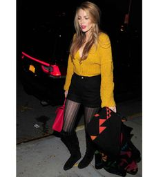 Style de Blake Lively : le pull moutarde