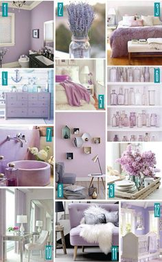 Lavender bedroom ideas color series decorating with purple lilac home decor a shade of teal walls . Lilac Bedroom, Girls Bedroom, Lavender Bedrooms, Bedroom Ideas, Lilac Nursery, Bedroom Bed, Master Bedrooms, Nursery Decor, Salon Interior Design