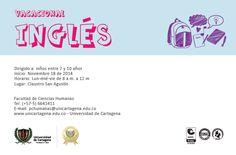 Vacacional de inglés para niños. #Unicartagena #Inglés