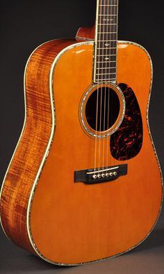 Martin D45 - a guitar worth more than my car! I wish I could get this for my Hubby!