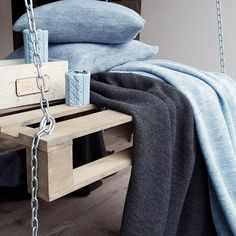 #powderblue #home #textile and decor! Amazing #fresh color!