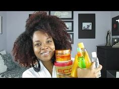 """6 """"Must Have"""" Natural Hair Products 2018 [Video] - The best natural hair produc. - 6 """"Must Have"""" Natural Hair Products 2018 [Video] – The best natural hair products for black - Best Natural Hair Products, Natural Hair Tips, Natural Hair Journey, Going Natural, Make Up Tools, Eyeliner, Do It Yourself Fashion, Black Hair Care, Natural Styles"""