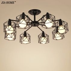 66.49$  Buy now - http://ali4ez.shopchina.info/1/go.php?t=32814675930 - Modren Living Room Bedroom Lamp  Dome Light 3/6/8 lamps Chandelier Lights for Home Decoration  Chandeliers light  #buychinaproducts