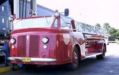1940 American LaFrance 100' Ladder Model JOX600 Series #vintage #fire #truck #antique