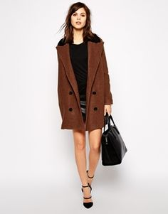 Enlarge Y.A.S Tailor Hairy Coat