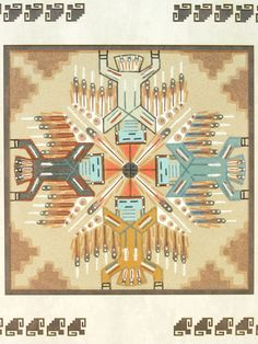 Big Thunder, Navajo sand Painting Native American Decor, Native American Artists, American Indian Art, Native American Indians, Native Americans, Sand Painting, Sand Art, Navajo Art, Circle Art