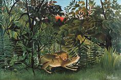 Risultati immagini per rousseau pittore animali