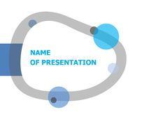 Hooked Ring PowerPoint template