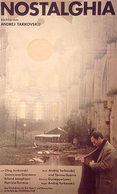 NOSTALGHIA von Andrej Tarkowski. Wunderschön gefilmt, reine Poesie. Bin noch ganz verzaubert von den Bildern, die sich im Kopf festgesetzt haben. Ein Film wie ein Traum. Herrlich! Hier kann man mehr erfahren: http://a-bittersweet-life.tumblr.com/post/24199837312/andrei-tarkovsky-in-nostalghia