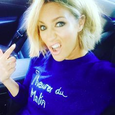 Caroline Flack's got new bright blonde hair... And oh look, it's amazing