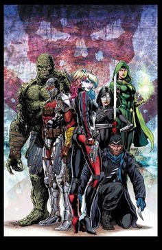 Suicide Squad by Jason Fabok