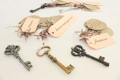 Keys to Marriage- Love this Bridal Shower game!