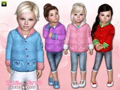 Toddlers by Lillka  http://www.thesimsresource.com/downloads/1190813