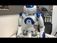 Complex Behaviours of Social Robots for Self-Medication - YouTube