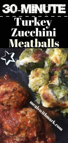 Plan a perfect Healthy weeknight dinner in 30 minutes with this amazing and delicious Turkey Zucchini Meatballs with Smashed Brussel Sprouts! You will definitely get your fill of greens with this dish! Healthy Weekend Meal after a Lazy-ish Weekend! Healthy Weekend Meals, Healthy Weeknight Dinners, Easy Meals, Healthy Italian Recipes, Healthy Food Blogs, Vegetarian Recipes, Turkey Zucchini Meatballs, Gluten Free Sides Dishes, Easy Dinner Recipes
