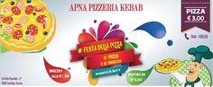 *********** #FESTA DELLA PIZZA ****************  Stiamo inaugurando la nostra Pizzeria A Sandrigo, Vicenza. UNO 6° PIZZA IN OMAGGIO E CON LA 10° PIZZA UNA BIBITA LATTINA E GRATIS anche per DA ASPORTO. Veni alla nostra pizzeria con la famiglia e gli amici e gustare il gusto di pizze diversi. Prezzo partire da 3 Euro. Tag della Festa è #FestaDellaPizza  Tuoi Tweet saranno pubblicati sul nostro pagina di Twitter tra cui #FestaDellaPizza.  Dati: 5 Settembre 2015 Orario: Dalle 17:00 alle 00:00…