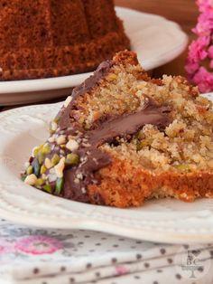 Bundt Cake de Nutella y frutos secos  http://ilovebundtcakes.blogspot.com.es/