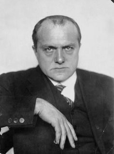 The painter Max Beckmann, ca 1928 -by Nini and Carry Hess