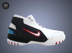 Nike Air Zoom Generation – White/Varsity Crimson-Black    http://sneakernews.com/2014/06/12/staff-insights-favorite-lebrons/2/