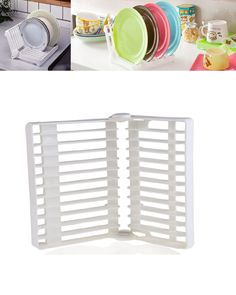 Folds in half when not in use for easy storage and travel Ideal where space is a premium such as a caravan or camping Easy to clean, just put the rack in the dishwasher to keep it bacteria free.