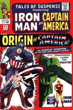Tales of Suspense #63. The origin of Captain America.