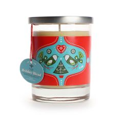 Holiday Aromatherapy Beeswax Candle | Eartheasy.com