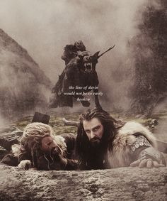 The line of Durin would not be so easily broken -- this is so awesome
