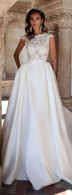 milla nova 2016 bridal wedding dresses / http://www.deerpearlflowers.com/milla-nova-wedding-dresses/8/
