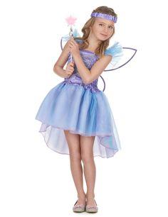 Déguisement fée violette fille   Ce déguisement de fée violette pour fille  se compose d  90a554d3dda1