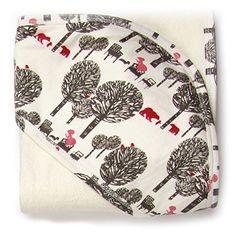 Kate Quinn Organic Unisex-baby Hooded Towel, Onesize (Gol...