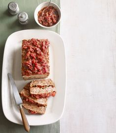 There's one thing missing from this classic comfort food, and it isn't beef — it's the side of mashed potatoes. Duh. Recipe: Turkey Meatloaf with Spicy Tomato Jam   - Delish.com