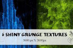 6 Dark Grunge Textures by Scrabooli Studio on @creativemarket